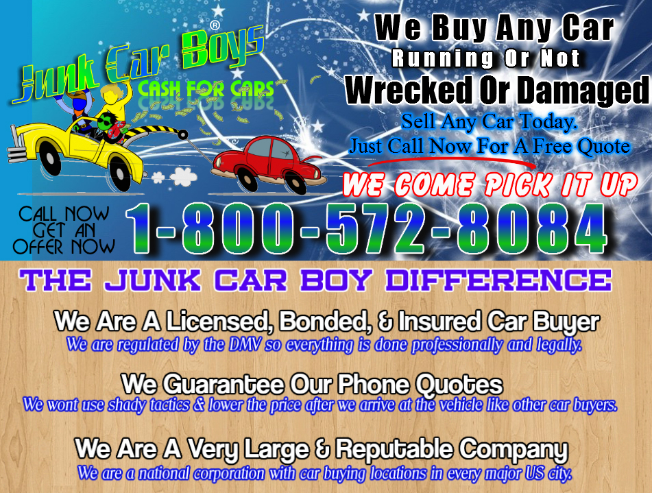 Cash For Cars Houston TX - We Buy Junk Vehicles Same Day